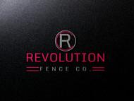Revolution Fence Co. Logo - Entry #382