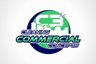 Commercial Cleaning Concepts Logo - Entry #96