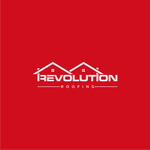 Revolution Roofing Logo - Entry #408
