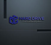 Hard drive garage Logo - Entry #186