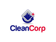 B2B Cleaning Janitorial services Logo - Entry #95