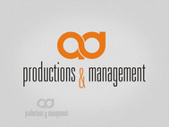 Corporate Logo Design 'AD Productions & Management' - Entry #154