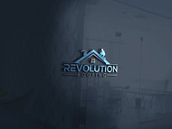 Revolution Roofing Logo - Entry #91