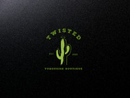 Twisted Turquoise Boutique Logo - Entry #60