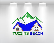 Tuzzins Beach Logo - Entry #138