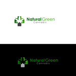 Natural Green Cannabis Logo - Entry #3