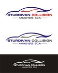 Sturdivan Collision Analyisis.  SCA Logo - Entry #199