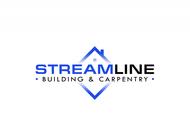 STREAMLINE building & carpentry Logo - Entry #162