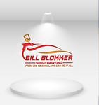 Bill Blokker Spraypainting Logo - Entry #82