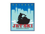 Chicago Jet Ski Adventures Logo - Entry #67