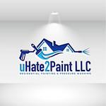 uHate2Paint LLC Logo - Entry #153
