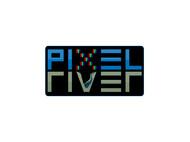 Pixel River Logo - Online Marketing Agency - Entry #73
