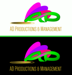 Corporate Logo Design 'AD Productions & Management' - Entry #153