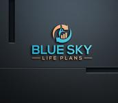 Blue Sky Life Plans Logo - Entry #139