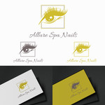 Allure Spa Nails Logo - Entry #149