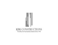 KBK constructions Logo - Entry #142