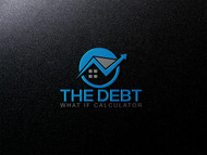 The Debt What If Calculator Logo - Entry #74