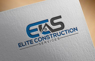 Elite Construction Services or ECS Logo - Entry #283