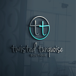 Twisted Turquoise Boutique Logo - Entry #31