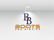 Boots and Birdies Logo - Entry #75