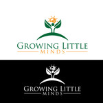 Growing Little Minds Early Learning Center or Growing Little Minds Logo - Entry #75