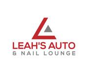 Leah's auto & nail lounge Logo - Entry #83