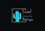 Twisted Turquoise Boutique Logo - Entry #190
