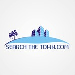 search the town .com     or     djsheil.com Logo - Entry #61