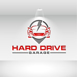 Hard drive garage Logo - Entry #301