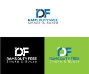 Rams Duty Free + Smoke & Booze Logo - Entry #92