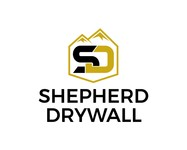 Shepherd Drywall Logo - Entry #297