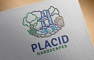 Placid Hardscapes Logo - Entry #26