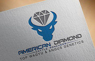 American Diamond Cattle Ranchers Logo - Entry #124