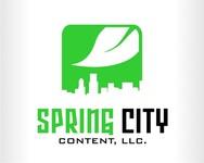 Spring City Content, LLC. Logo - Entry #6