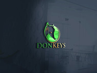 DONKEYS Logo - Entry #2