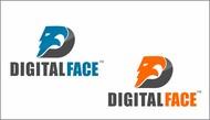 Digital Face Logo - Entry #17