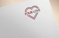 Four love Logo - Entry #100