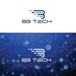 B3 Tech Logo - Entry #68