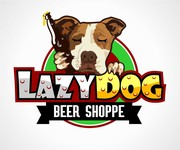 Lazy Dog Beer Shoppe Logo - Entry #20
