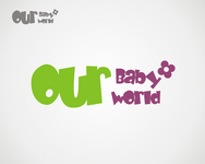 Logo for our Baby product store - Our Baby Our World - Entry #14