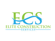 Elite Construction Services or ECS Logo - Entry #107