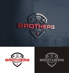 Brothers Security Logo - Entry #156