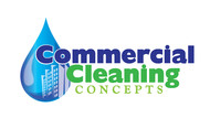 Commercial Cleaning Concepts Logo - Entry #110