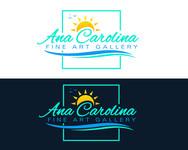Ana Carolina Fine Art Gallery Logo - Entry #235