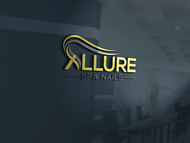 Allure Spa Nails Logo - Entry #91