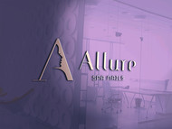 Allure Spa Nails Logo - Entry #121