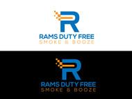 Rams Duty Free + Smoke & Booze Logo - Entry #228