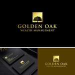 Golden Oak Wealth Management Logo - Entry #5