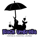 Black umbrella coffee & cocktail lounge Logo - Entry #50
