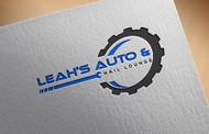 Leah's auto & nail lounge Logo - Entry #144